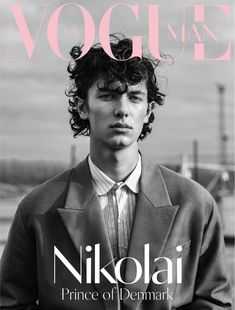 Prince Nikolai of Denmark covers Vogue Ukraine Man Spring/Summer 2019 by Marco van Rijt - Prince Nikolai of Denmark covers Vogue Ukraine Man Spring/Summer 2019 by Marco van Rijt Published on in Cover by Maximilian Princ. Vogue Magazine Covers, Fashion Magazine Cover, Fashion Cover, Vogue Covers, Vogue Photography, Editorial Photography, Vogue Vintage, Vogue Wallpaper, Vogue Portugal