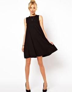 great simple black dress