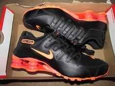 Nike Shox NZ Womens Running Shoes 6.5 Black Bright Mango 636088 066  Nike…  Nike 33154ca7d