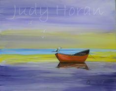 Canadian Nature, Canadian Artists, Heartland, Serenity, Original Artwork, Boat, Prints, Painting, Design