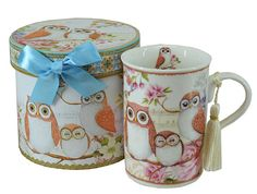 Two Owls Design Gift Boxed Coffee Mug     1 x Gift Box  1 x Coffee Mug    Only $15.00 plus Shipping World Wide   Shop this product here: http://spreesy.com/itstartedwithagift/44   Shop all of our products at http://spreesy.com/itstartedwithagift      Pinterest selling powered by Spreesy.com