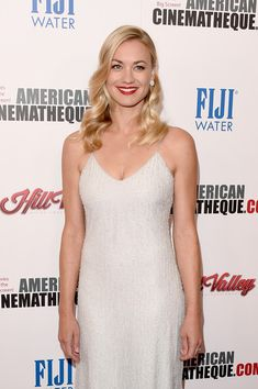 Actress Yvonne Strahovski attends the 29th American Cinematheque Award honoring Reese Witherspoon at the Hyatt Regency Century Plaza on October 30, 2015 in Los Angeles, California.