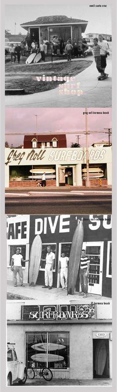 Classic surf shops back where I grew up