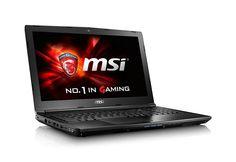 "Amazon.com: MSI GL62 6QF-893 15.6"" GAMING LAPTOP NOTEBOOK GTX 960M i7-6700HQ 12GB 128GB + 1TB WINDOWS 10 USB TYPE-C: Computers & Accessories"
