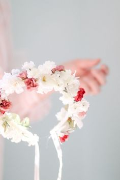 12 DIY Flower Crowns {how to}