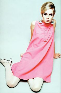Twiggy pink dress