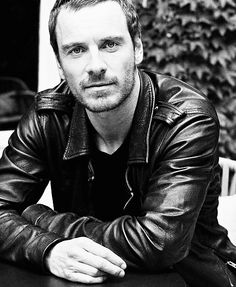 Michael Fassbender!! He's awesome as Magneto!