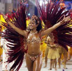Samba dancing in Brazil!