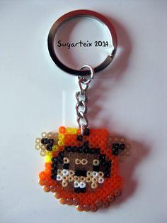 Llavero cabeza Ewok.  Si te gusta puedes adquirirlo en nuestra tienda on-line: http://www.sugarshop.eu