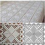Copriletto crochet