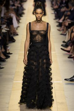 The Top Runway Trends of Spring 2017: Sheer Power -  Christian Dior