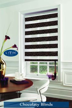 Chocolaty #Blinds !!! Infinite colour schemes and yet we get attracted towards the #chocolate brown colour just because it symbolises our favourite food item. Therefore Livin Blinds has chosen it as a strategic #colour,Click here to read more:http://bit.ly/2kOCpCq