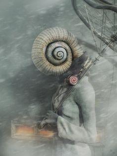 Alive Philosophy Q - Surreal 3D Art By Andrey Bobir  <3 <3