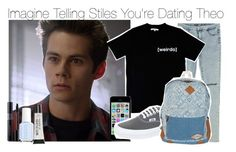 """Imagine Telling Stiles You're Dating Theo"" by fandomimagineshere ❤ liked on Polyvore featuring Zara, Illustrated People, Vans, Billabong, Essie and Torrid"
