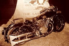 Lawrence of Arabia's Brough Superior SS