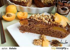 Rychlé meruňkové řezy s čokoládou recept - TopRecepty.cz Pavlova, Food And Drink, Sweets, Recipes, Cakes, Kitchen, Hampers, Deserts, Gummi Candy