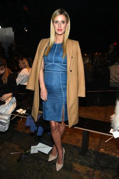 Pin for Later: These Stars Didn't Play Around When It Came to Their Fashion Week Outfits Nicky Hilton At J. Mendel.
