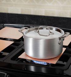 Even Heating Copper Burner Plates