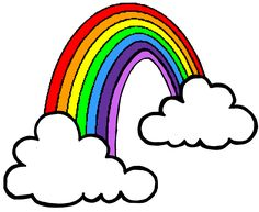cartoon rainbow drawing things to draw someday pinterest