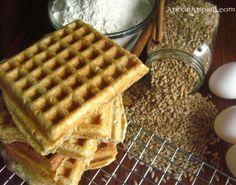 Apron Appeal: 100% Whole-Wheat Waffles