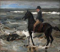 Rider on the Beach, 1904 - Max Liebermann