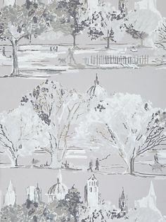 Buy Prestigious Textiles Scene Wallpaper, Sable, 1942/109 online at JohnLewis.com - John Lewis