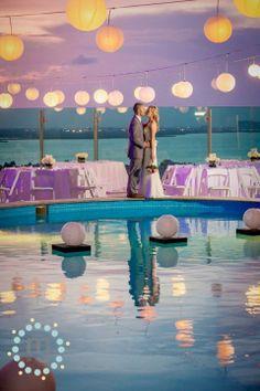 » Beach Palace Wedding in Cancun | Mexico Wedding Photography |