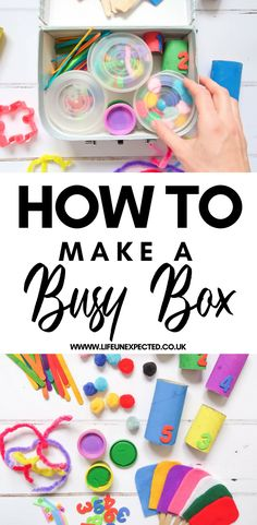 I made Evie a busy box just after she turned one years old. I knew it would be played with a little bit, but I didn't realise that three years later, it would still give…