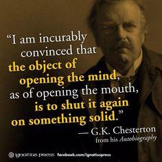 Gk Chesterton Quotes Extraordinary Gkchesterton Quote Transubstantiation Holy Eucharisti