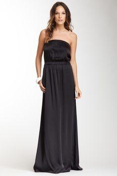 Strapless Silk Dress. Looks sooo comfy!