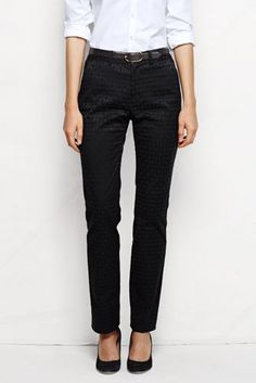 Women's Fit 2 Jacquard Straight Leg Chino Pants