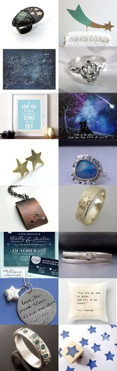 it was written in the stars... curated by Beth Cyr