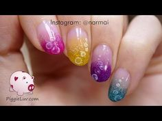 Glitter tornado nail art tutorial with OPI Color Paints - YouTube