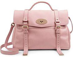 Mulberry Alexa grainy calf leather satchel