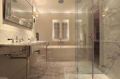 Bathroom lighting design by john cullen lighting. Contemporary Bathroom Lighting, Bathroom Lighting Design, Diy Bathroom Decor, Bathroom Layout, Interior Lighting, Small Bathroom, Master Bathroom, Bathroom Ideas, Under Cupboard Lighting