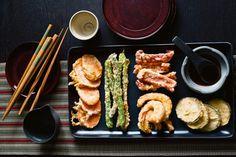 Prawn & vegetable tempura main image