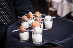late-night donuts + milk! | Laura Yang #wedding