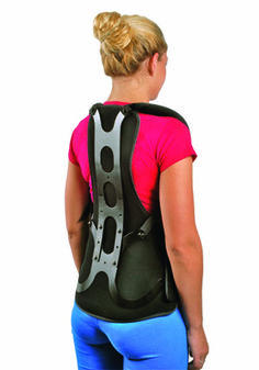 Our Cybertech postural extension is indicated for acute pain relief by means of thoracic postural extension alignment, early onset osteoporosis, compression fractures of the thoracic spine, kyphosis and thoracic mechanical back pain. The thoracic posture brace includes a flexible dual Cybertech patented mechanical pulley system allowing the patient to adjust compression.  To check out other Cybertech items available at BraceAbility go to http://www.braceability.com/brand/cybertech-medical