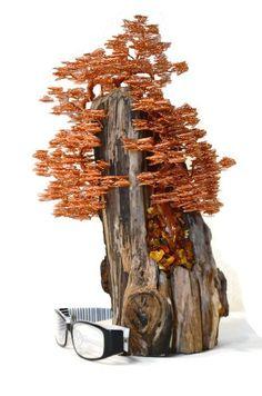 Wire Sculpture / Contemporary Art / Wire Tree Sculpture /