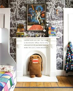 Marthe Armitage kids room. Such a great boys room.