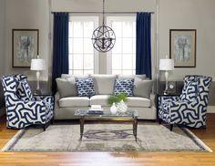 Temple Furniture - Harrison Sofa & Fletcher Chairs