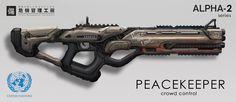 Peacekeeper by eddie-mendoza.deviantart.com on @DeviantArt