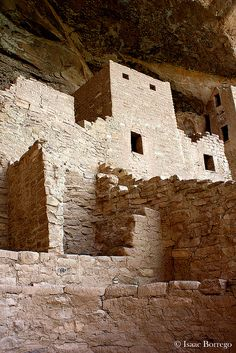 Cliff Palace, Mesa Verde National Park; photo by .Isaac Borrego