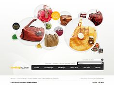 Handbag Boutique Magento Themes by Astra