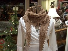 The 12 Knits of Christmas 2009 - Week Ten: The Melissa Scarf