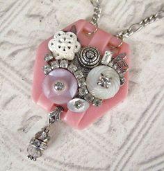 ceinture vintage collier de boucle