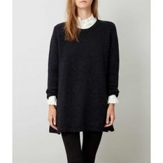 Navy Ives Sweater Dress
