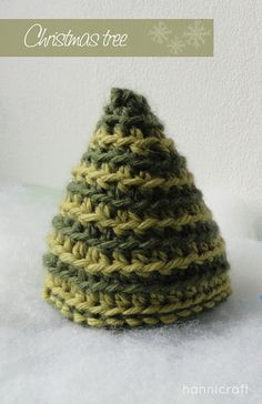hannicraft: Crochet Christmas Tree  Please like, share and repin.  Cheers! :)