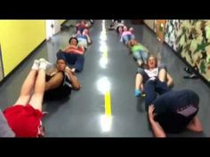 Fitness Game: Crossfit Kids: banana game (can be played with a light medball or soccer ball)