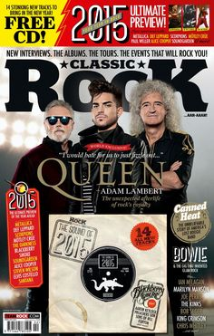 Adam Lambert and Queen  Classic Rock Magazine